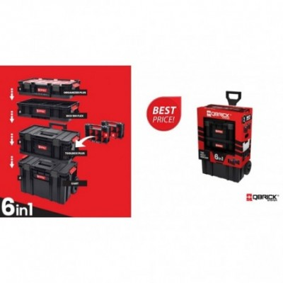 ZESTAW QBRICK SYSTEM TWO CART 6IN1-SKRZ N2597
